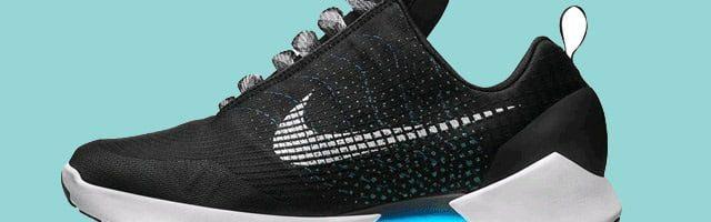 Nike usa smartphone para saber numeração do tênis