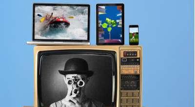 Diversas mídias; Tv, Tablet, Celular